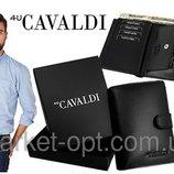 Мужской кошелек CAVALDI из натуральной кожи
