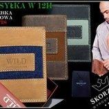 Кожаный Бумажник, кошелек Always Wild Польша