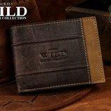 Деловой мужской кожаный кошелек от Always Wild