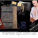 Стильный мужской кожаный кошелек ALWAYS WILD