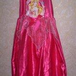 карнавальное новогоднее платье принцесса 7-8 лет