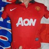 Спортивная фирменная футбольная футболка Nike Ф.к Манчестер