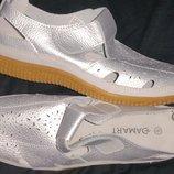 41р-26.5 кожа мягкие на широкую новые туфли Damart