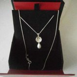 Серебряное ожерелье Oriflame by Stork