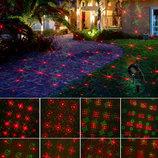 Проектор лазерный водонепроницаемый на Рождество и много других Рождествениских декораций