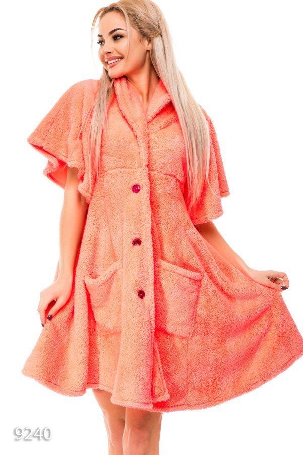 Платье домашнее махровое
