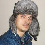 Очень теплая зимняя мужская шапка