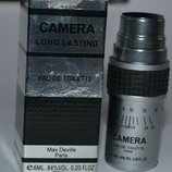 Max Deville Camera Long Lasting By Max Deville For Men Eau De Toilette 6 мл