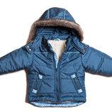Акция. Фирменная куртка зима синтапон овчинка 0028.