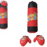 Детский игровой боксерский набор груша, перчатки, в сетке 34,0 62,0 17,0см