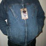 джинсовая куртка стильная мужская и подростковая разные размеры