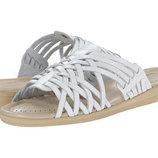Кожаные босоножки, шлепанцы, сандали Comfortiva Tai р. 36,5. Белые.