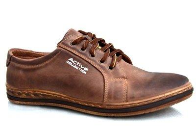 Класические кожаные мужские ботинки 38-48 код 6437099226