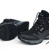 Утепленные зимние ботинки черного цвета SOFT SHELL 41-46 код 6542466234