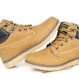 Утепленные зимние ботинки цвета песка Bosen One 41-46 код 6542166626