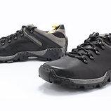 Треккинговая мужская обувь из натуральной кожи код 6526394558
