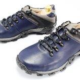 Трекинговая мужская обувь натуральная кожа код 6553372566