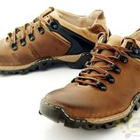 Треккинговые ботинки из натуральной кожи код 6536356866