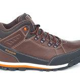 Зимние утепленные ботинки коричневого цвета TRAPERY GOODIN 41-46 код 6542240278
