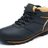 Кожаные зимние утепленные черные ботинки EXPANDER CAT 41-46 код 6093867666
