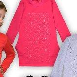 Платье с стразами на рост 110-122