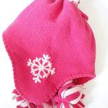 Теплая демисезонная шапка Mothercare 2-3г на меху