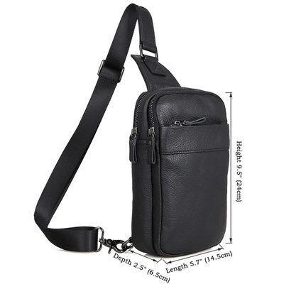 Рюкзак сумка через плече Стиляга New натуральная кожа