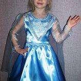 Платье Эльза Холодное сердце Прокат