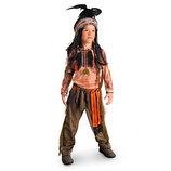 Новый крутой костюм индейца Disney. Оригинал. разм.104