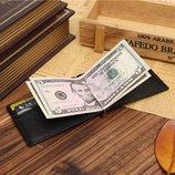 Зажим для денег из натуральной кожи