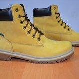 мужские зимние ботинки желтые