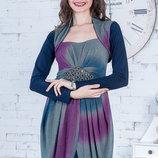 Новогоднее красивое блестящее платье