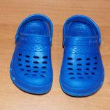 Фирменные кроксы для мальчика , размер С7 14 см