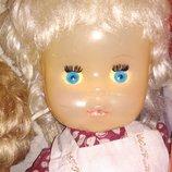Кукла большая коллекционная винтажная Наташа фабрикака 8 Марта ссср