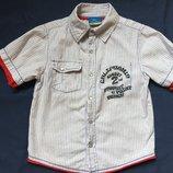 Рубашка с коротким рукавом Topolino на рост 110