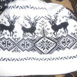 Комплект шапка-шарф-гетры.
