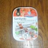 Сардины в томатном соусе Америго 110г Польша