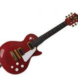 Музыкальный инструмент Рок Гитара Simba 6837110B бордовая