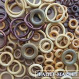 Кольца декоративные деревянные для декора и рукоделия