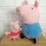говорящие мягкие игрушки Свинка Пеппа Peppa Pig Англия оригинал.Состояние идеальное. игрушки чистые
