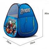 Детская игровая палатка HF 014 Аvengers, Супер герои