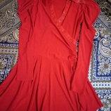 Яркое нарядное праздничное красивое стильное модное платье