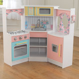 Детская кухня Kidkraft Deluxe Corner Play Kitchen 53368