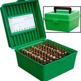 Коробка MTM R-100 на 100 патронов кал. 308 Win 30-06