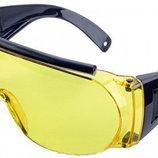 Очки стрелковые Allen Fit Over Shooting Glasses. Линзы - поликарбонат желтые