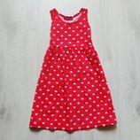 Яркое платье для девочки. Y.D. Размер 3-4 года. Состояние новой вещи