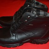 зимний ботинок от дорогостоящего бренда Fretz Men switzerland Gore-tex кожа оригинал