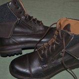 демесезонный ботинок от дорогостоящего бренда Fretz Men switzerland Gore-tex кожа оригинал