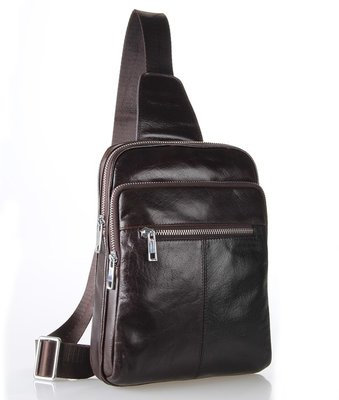 Рюкзак сумка через плече барсетка Стиляга 100% кожа