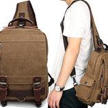Рюкзак сумка через плече Canvas